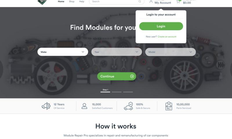 Ziggle Tech Inc. - Design of eCommerce Website