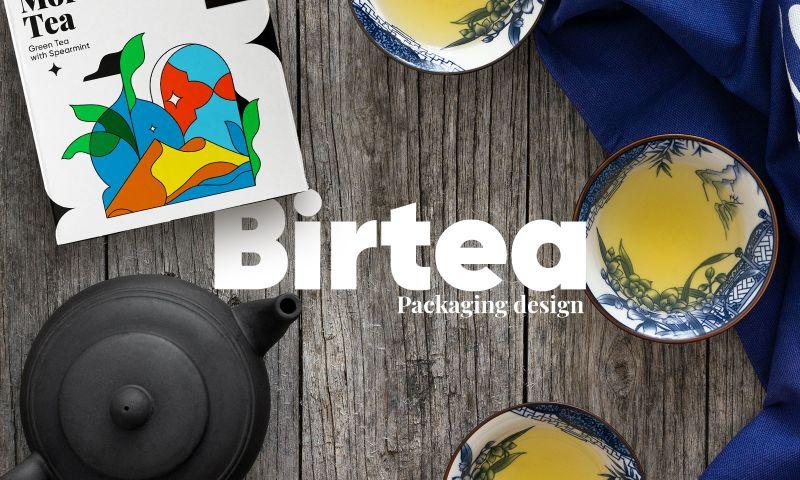 Moloko Creative agency - Logo redesign and packaging design for Birtea