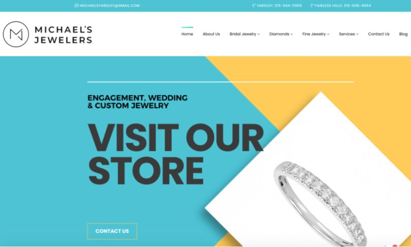 Vnited - E-commerce website (Jewelry)