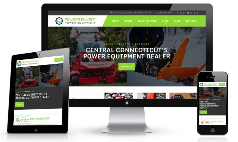 Web Services CT - River East Power Equipment