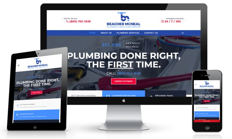 Web Services CT - Beacher E. McNeal Plumbing