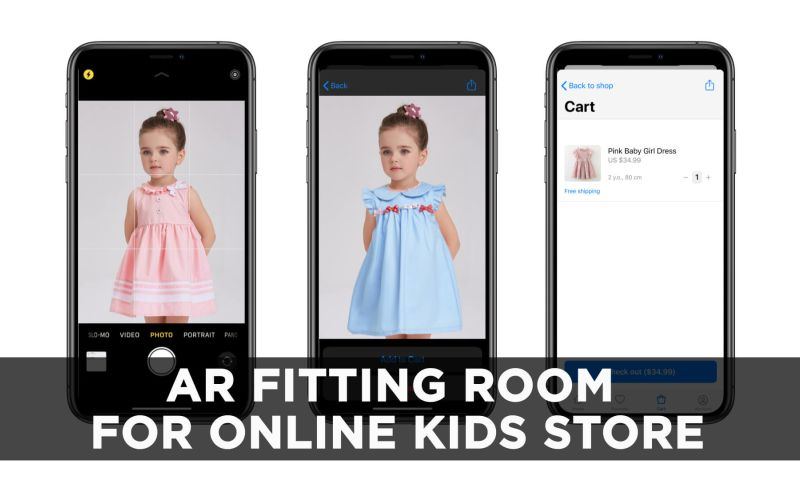 VironIT - AR Fitting Room For Online Kids Store