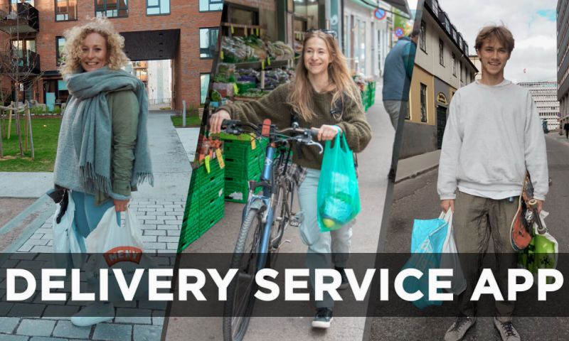 VironIT - Norwegian Delivery Service App