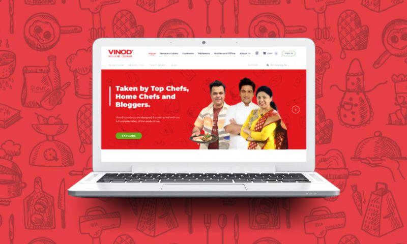 Cart Geek - Vinod Cookware