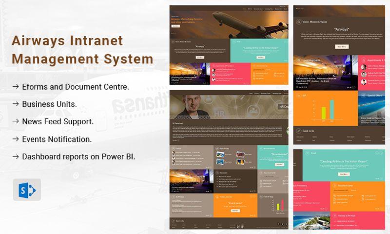 Tatvasoft - Airways Intranet Management System