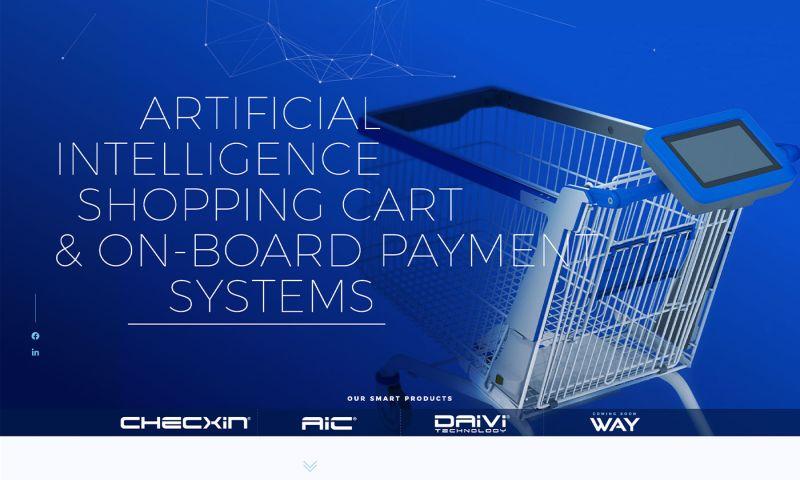 sliStudios Web Development - Tracxpoint Ai Shopping Carts