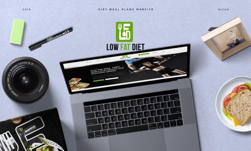 Syntactics Inc - Low Fat Diet Website