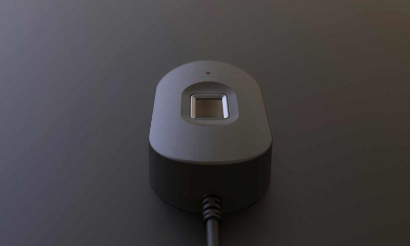 Bluemap Design - Innotek M16 biometric fingerprint scanner
