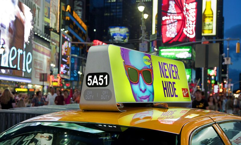 Bluemap Design - VeriFone Hi-Impact Taxi-top