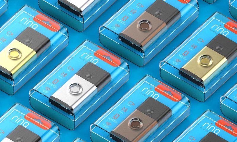 Bluemap Design - RING Video Doorbell Packaging