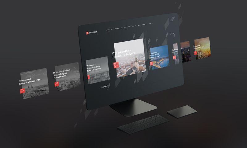 Bambuk studio - IT Weekend Ukraine Web site