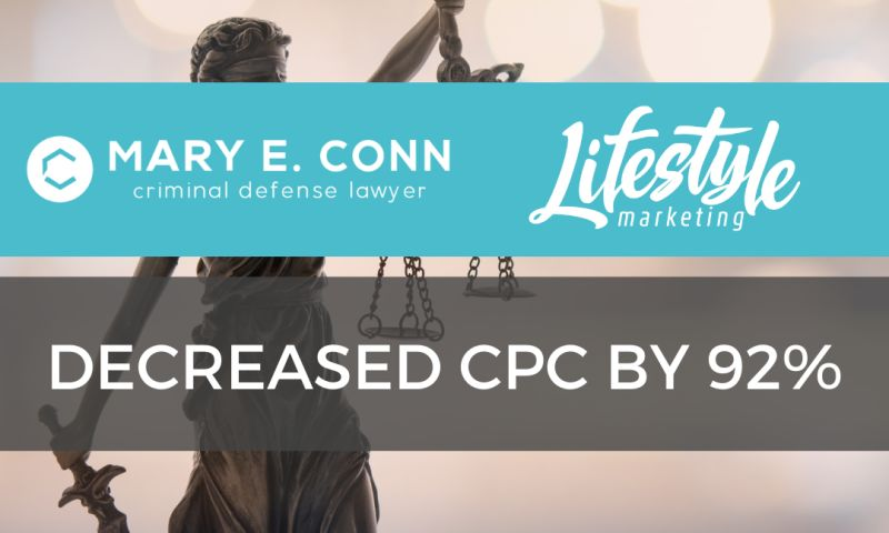 Lifestyle Marketing - Mary E. Conn Law Firm Case Study
