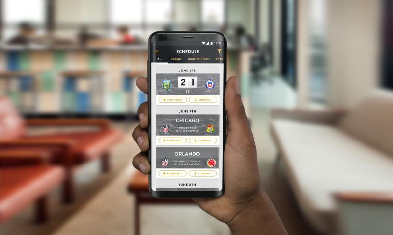 Punchkick Interactive - Copa America Mobile Apps