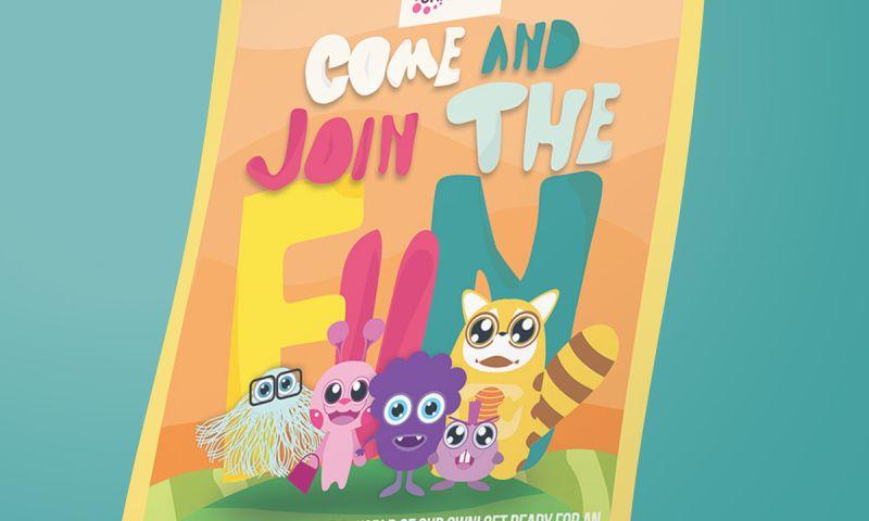 BRIGHTSAND designs - Kids Universe Flyer