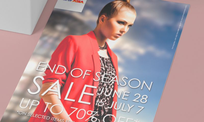 BRIGHTSAND designs - SM Mall of Asia Flyer