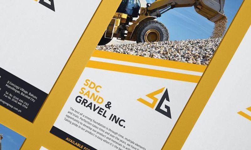 BRIGHTSAND designs - SDC Sand & Gravel Inc. Branding & Print