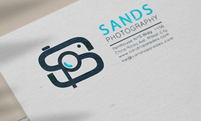 BRIGHTSAND designs - Sands Photography Logo Design