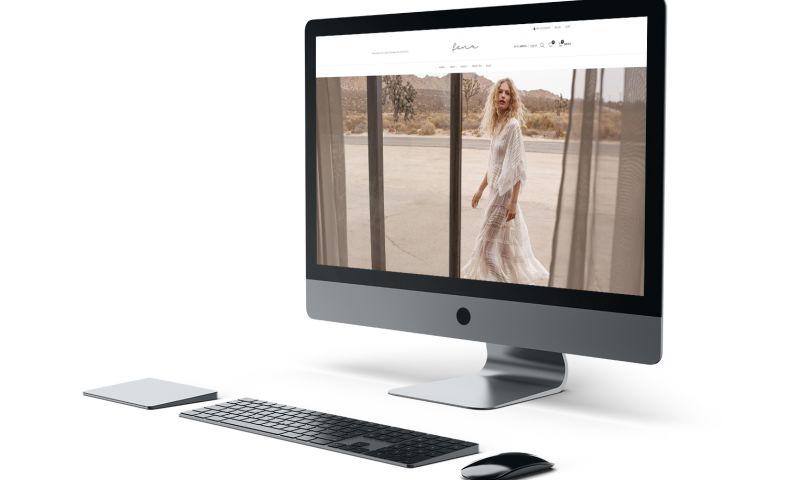 BRIGHTSAND designs - Fenu Wear AU Website Design
