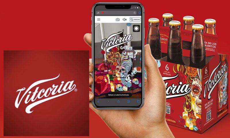 Groove Jones - Victoria's Dia De Los Muertos Limited Edition Bottles WebAR Campaign