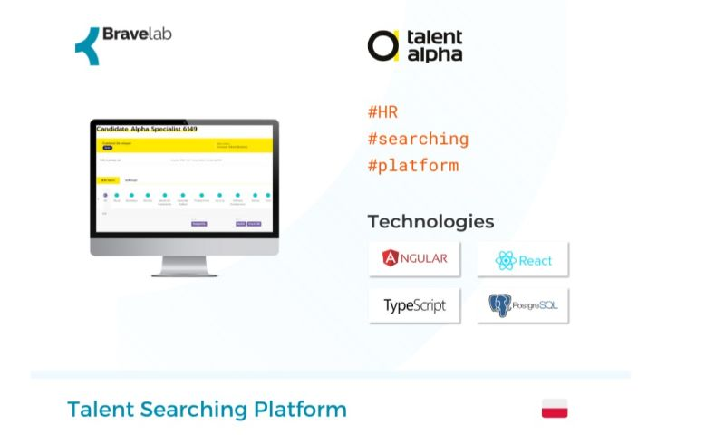 Bravelab.io - Talent Searching Platform