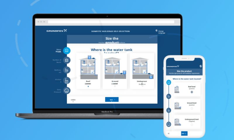 Clarika - Web App Domestic Buildings Self-Selection Tool