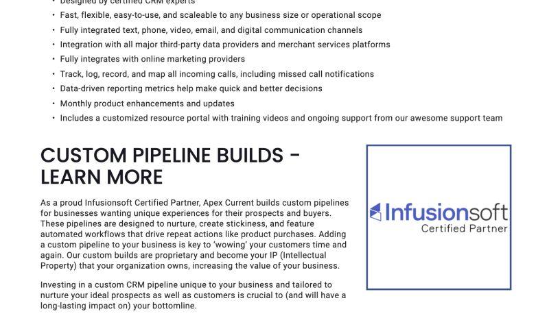 Apex Current - Custom Pipelines & CRM Solutions