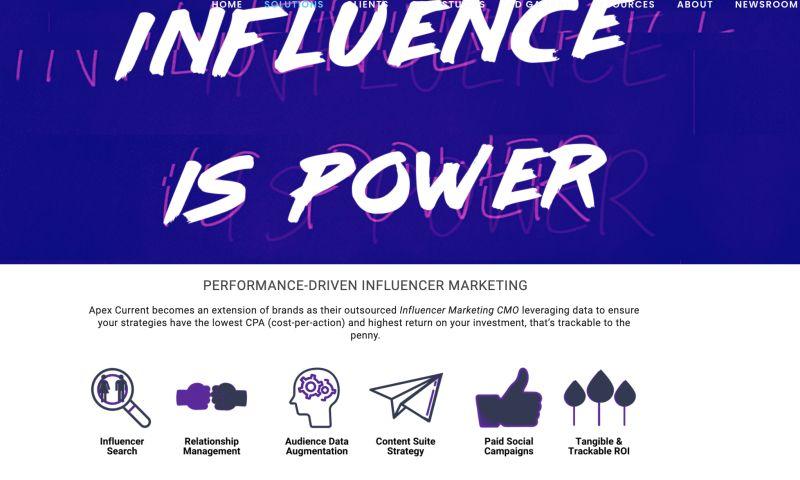Apex Current - Influencer Marketing Programs