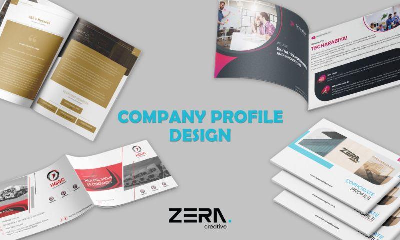 Zera Creative - Company Profile Portfolio 2020