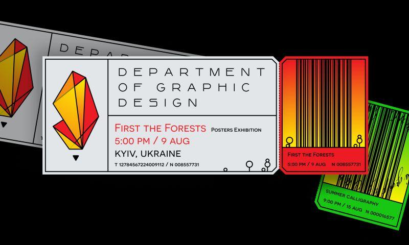 Pink Lions - Branding & Web Design for Graphic Design School