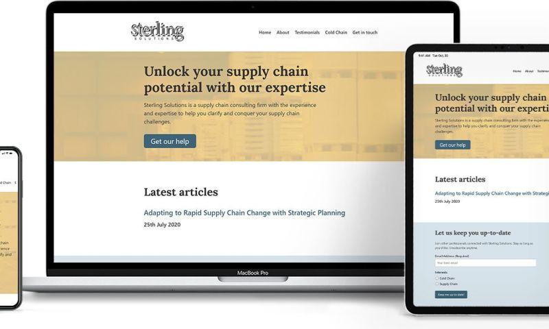 FlareMark - Supply Chain Consultancy Website