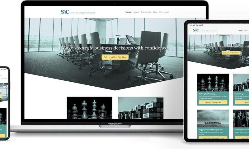 FlareMark - Strategic Business Management Consultancy Website