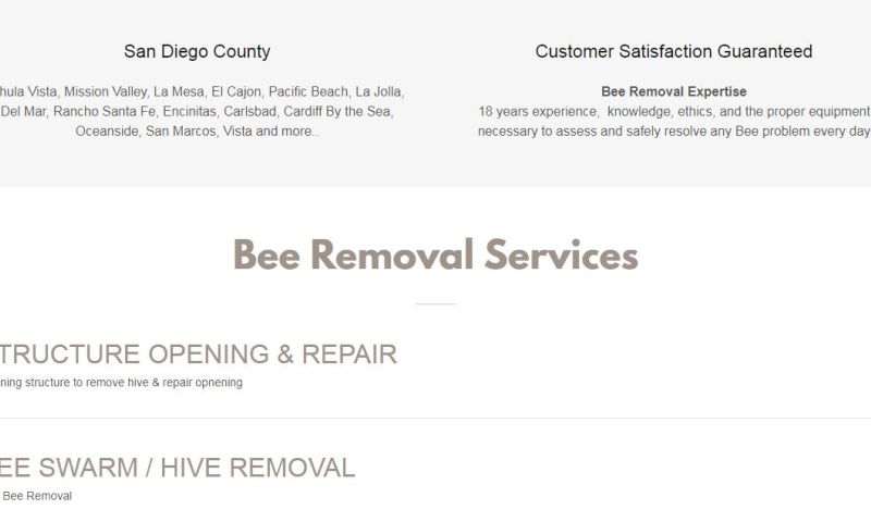 Rightpapa Web Solutions - PRO BEE REMOVAL