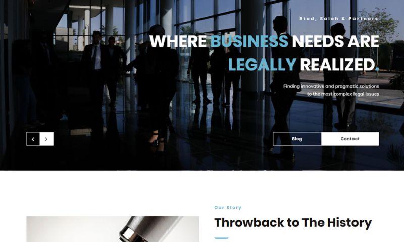 Dot IT - Riad, Saleh & Partners Website