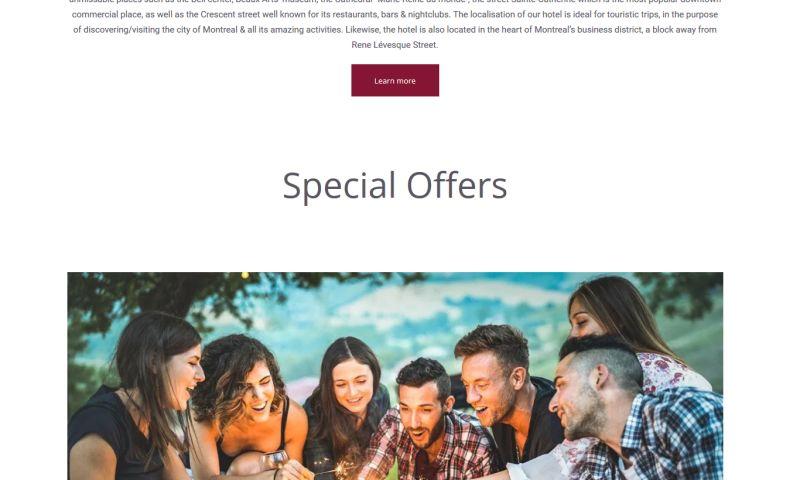 Web design discovery - Hotel Europa Website Design