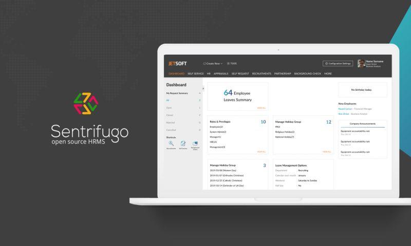 JetSoftPRO - SENTRIFUGO: OPEN-SOURCE ENHANCED HUMAN RESOURCE MANAGEMENT SYSTEM FOR ENTERPRISES