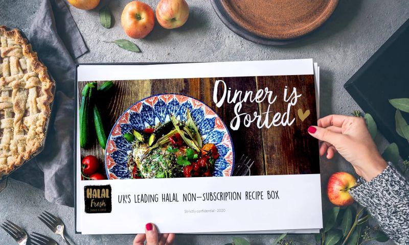 DLAB LIMITED - Pitch creation for halal recipe box