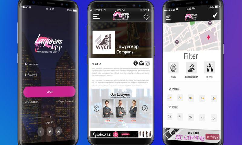 Royal Media Ltd. - Lawyers App