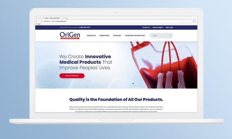 HMG Creative - Origen Biomedical