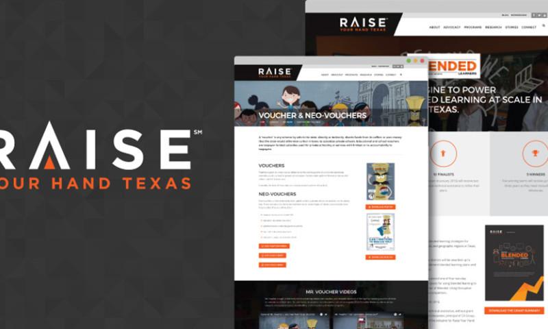 HMG Creative - Raise Your Hand Texas