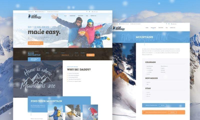 AddWeb Solution Pvt Ltd - Ski Daddy - AddWeb Portfolio