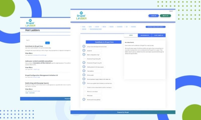 AddWeb Solution Pvt Ltd - Drupal Ladder Learn about & Contribute to Drupal Core - AddWeb Portfolio