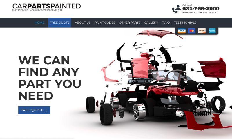 Plitz Corporation - Car Parts Painted