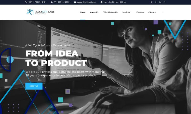 Plitz Corporation - AddSys Lab