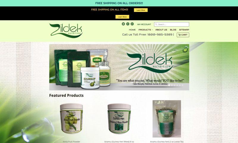 Plitz Corporation - Zildek Nutrition