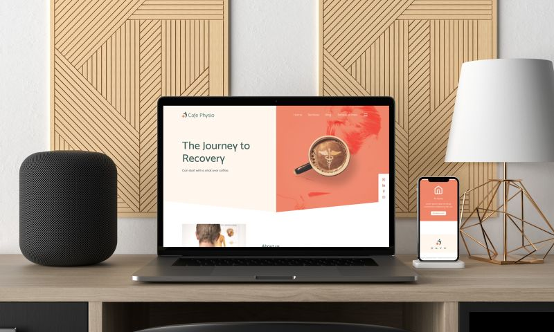 Studio GOESTO - Cafe Physio - Branding and web Design.