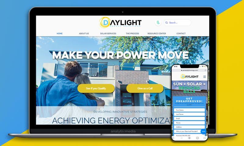 Analytix Media - Daylight Energy | Solar