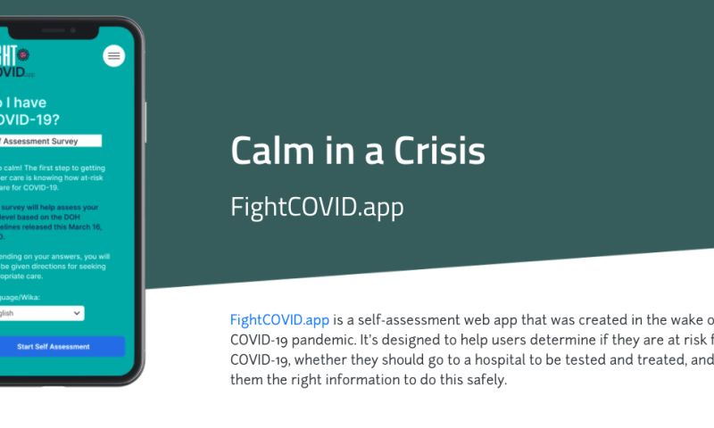 White Widget - FightCOVID.app