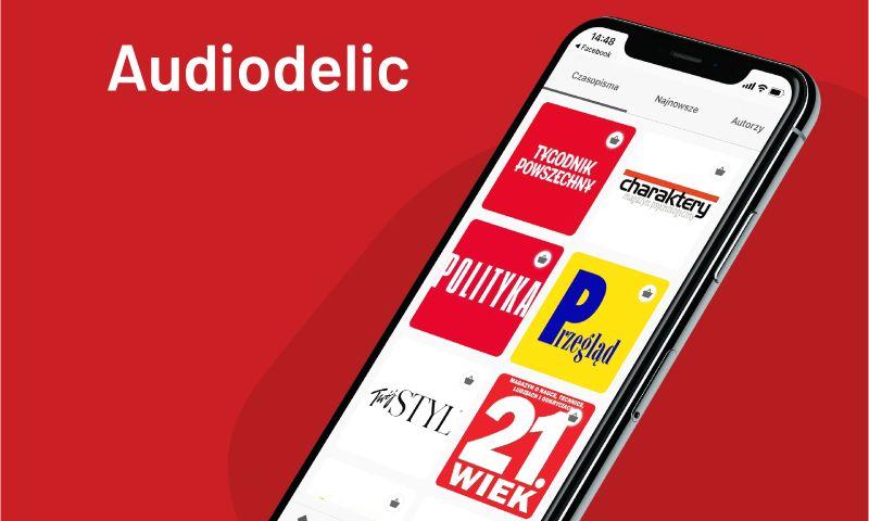 Giraffe Studio Apps - Audiodelic Mobile App