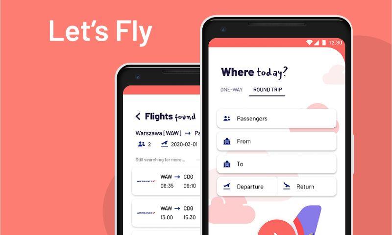 Giraffe Studio Apps - Let's Fly Mobile App