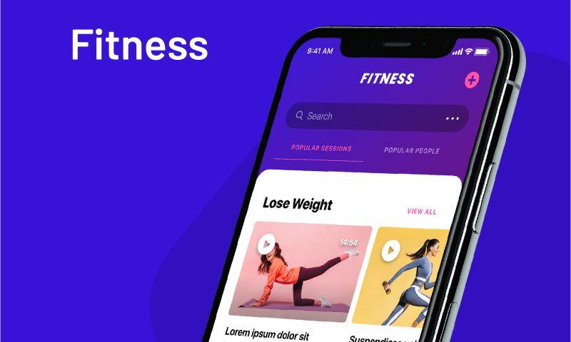 Giraffe Studio Apps - Fitness Mobile App